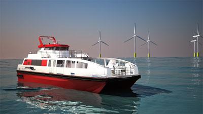 这些船只适于从海上救援到大型摆渡各种用途