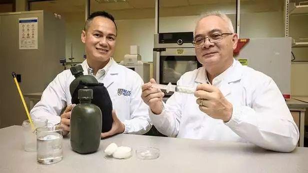 新加坡国立大学用棉布肥料造出环保气凝胶: