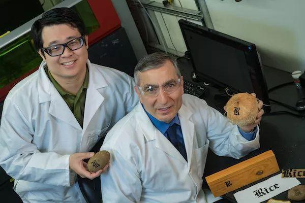 莱斯大学开发出一种激光诱导石墨烯(LIG)的