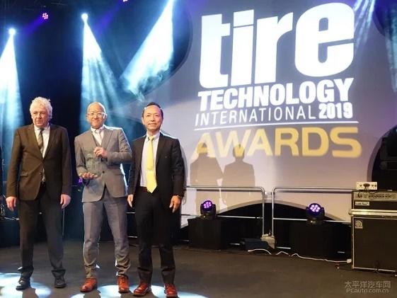 住友橡胶轮胎智能传感技术获国际技术大奖
