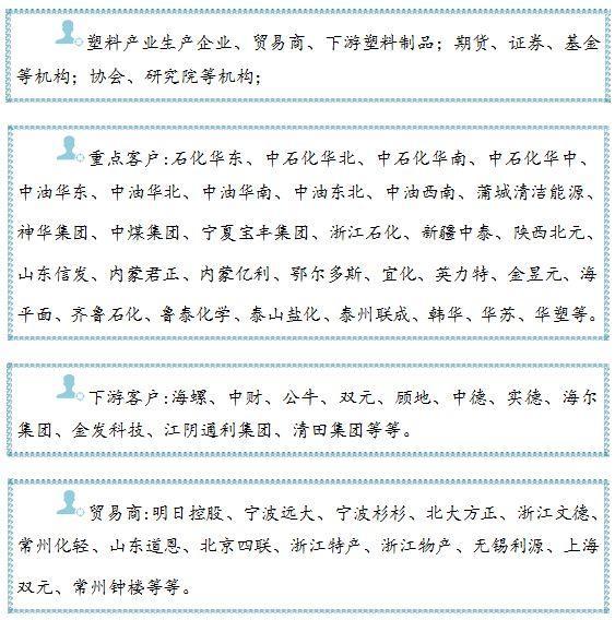 中国塑料产业大会暨塑料产业高峰论坛