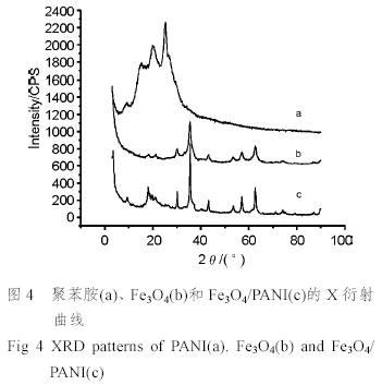 纳米fe3o4/聚苯胺复合粒子的制备及其磁性能研究