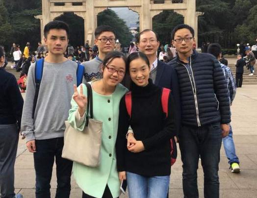 金秋时节,毓秀金陵,课题组2016南