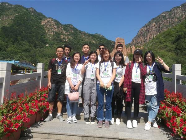 2017年6月26日课题组北京石林峡一