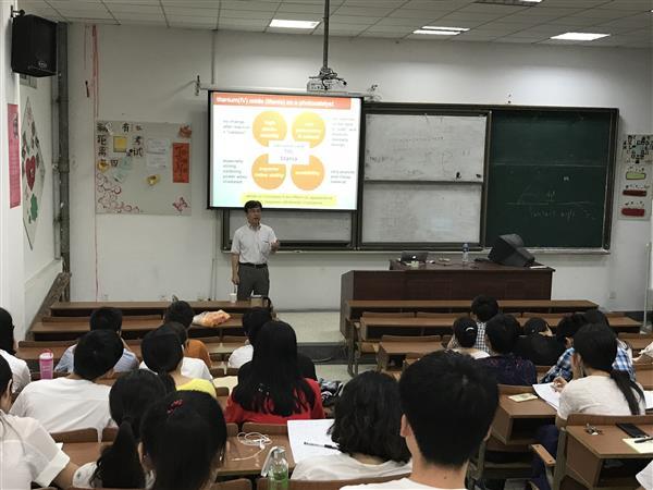 日本九州工业大学横野照尚教授来我