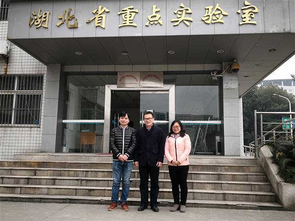 广西师范学院肖琦博士黄珊博士来访