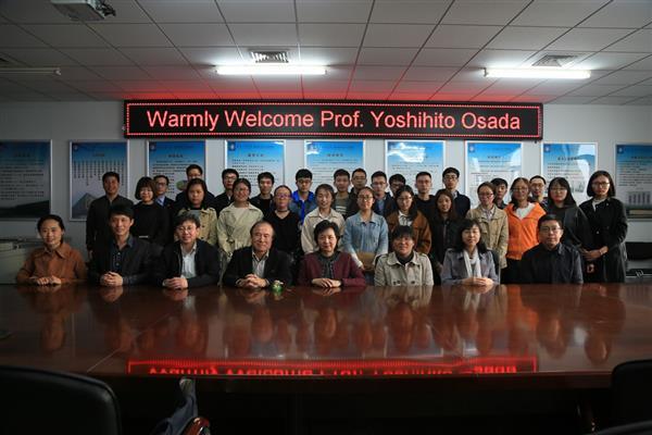 世界著名凝胶专家Yoshihito Osada