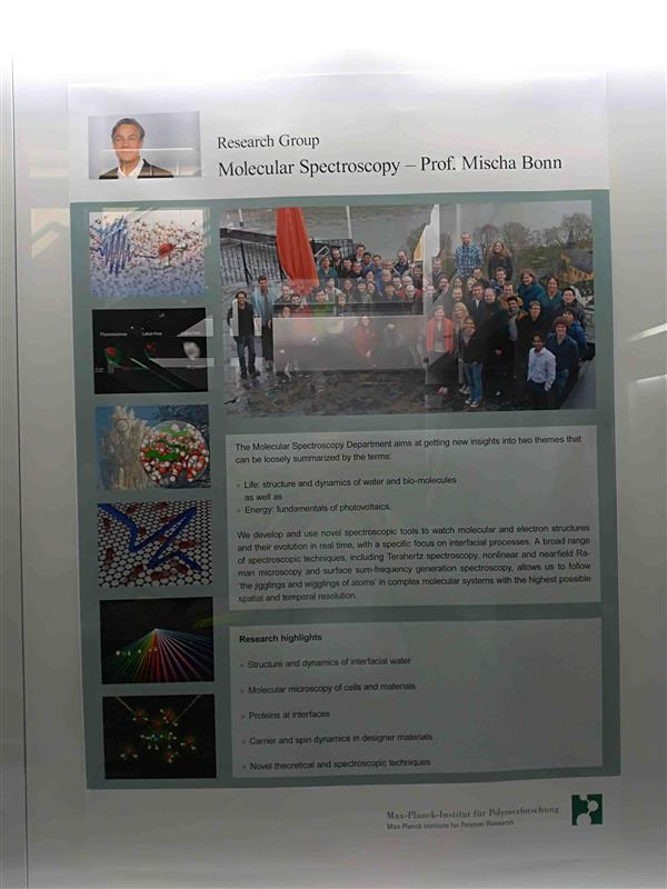 Sep 6-8, 2018, 访问美因茨Molecul