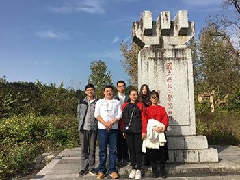 课题组师生共赴汉中参观学习