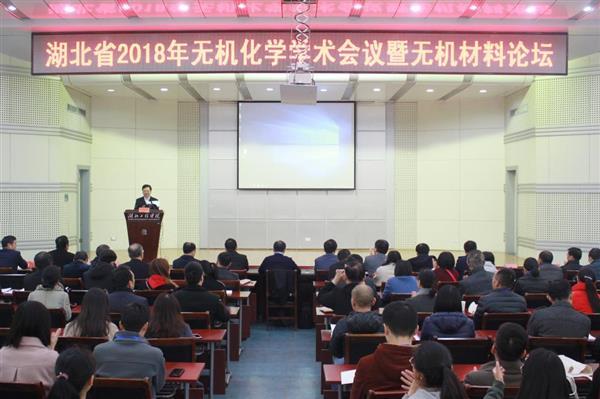 课题组应邀参加湖北省化学化工学会