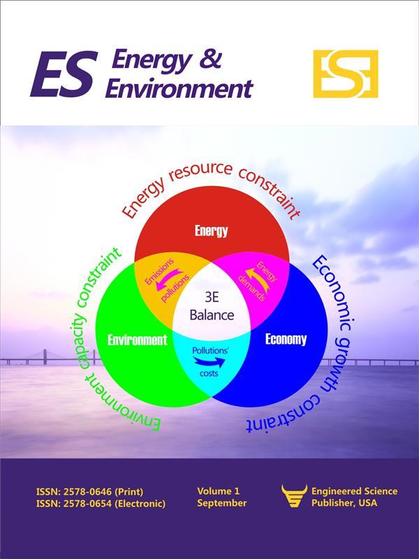 ?ES Energy & Environment期刊2018