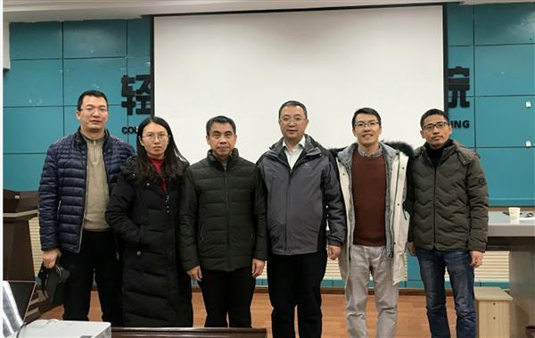 欢迎西安交通大学杨贵东教授来我校