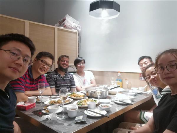 欢迎熊熠、张昊岳、邵菲三位博士加